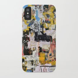 Basquiat World iPhone Case