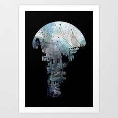 Secret Streets II Art Print