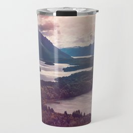 Lake in the mountains Travel Mug