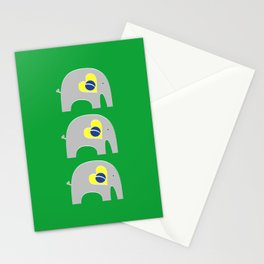 Brazilian Elephant Stationery Cards