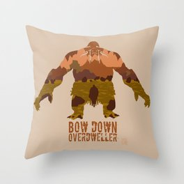 Lord of Crags Throw Pillow