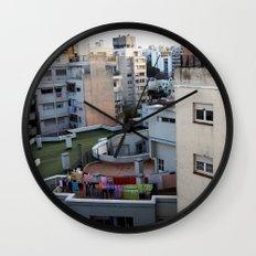 Urban Landscape 01 Wall Clock