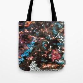Black Star Reticulum Tote Bag