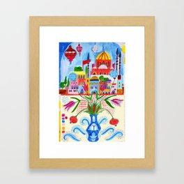 Istanbul Framed Art Print