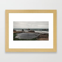 Sutro Baths Ruins Framed Art Print