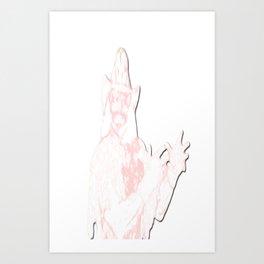 MACHOLIFE Art Print