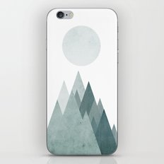 Mid Century Scandinavian Mountain iPhone & iPod Skin