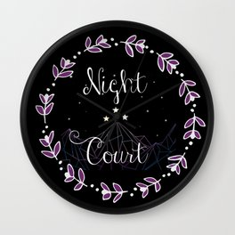 Starry Night Court Wall Clock
