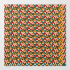 Geometric Ethnic Pattern Canvas Print