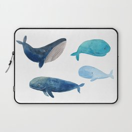 Cool whales Laptop Sleeve