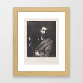 Saint James the Greater, TAYLOR, ISIDORE-JUSTINE-SÉVERIN -LITHOGRAPHE Framed Art Print
