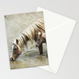 Safe By Mother's Side - South Steens Mustangs Stationery Cards