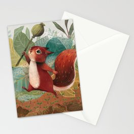 Perrin and the Poppy Pod Stationery Cards