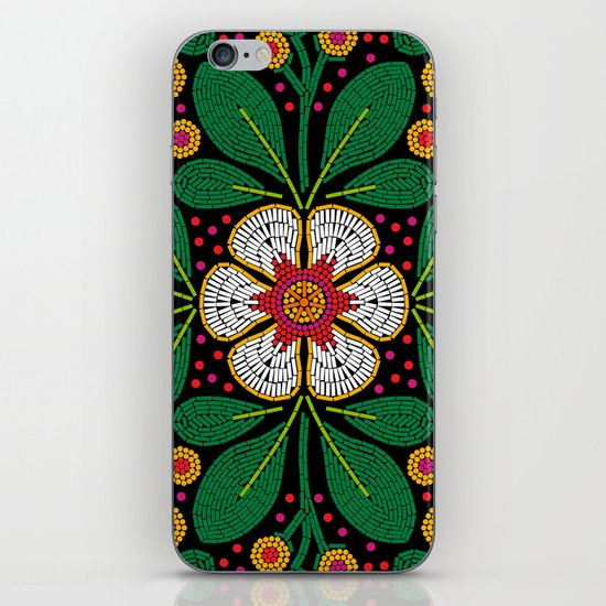CLUSIA MARACATU iPhone & iPod Skin