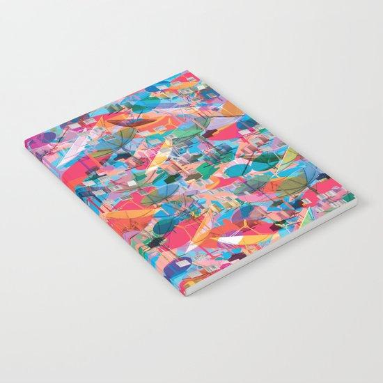 Fragmented Worlds VIII II Notebook