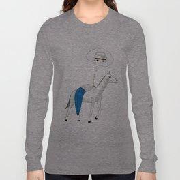 Mr.Master dreams of Sven Hedin Long Sleeve T-shirt