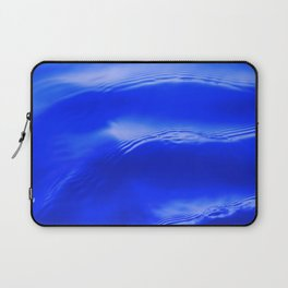 Ocean Decor, Home & Accessories, Waves, Blue, Art Prints, Wall Art Laptop Sleeve
