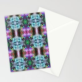 Neurotransmitted Daydreams (Pattern 2) Stationery Cards