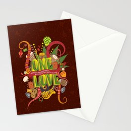 Rhapsody Of Reggae Stationery Cards