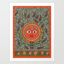 Shurya Art Print