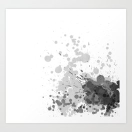 Passion Grey Art Print