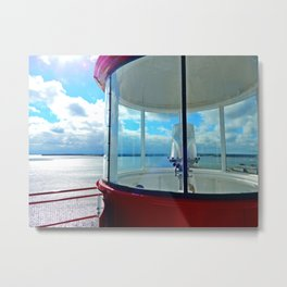 From the Lighthouse Balcony Metal Print