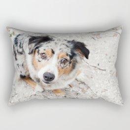 Australian Shepherd Rectangular Pillow
