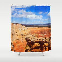 Arizona Landscape Shower Curtain