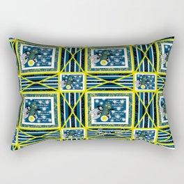 Glow Bugs. Rectangular Pillow