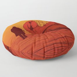 THE WASTELAND - BLADE RUNNER 2049 Floor Pillow