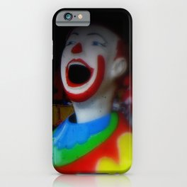 Laughing Clowns iPhone Case
