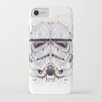 stormtrooper iPhone & iPod Cases featuring stormtrooper by yoaz