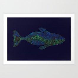 Bowhead Aurora Art Print