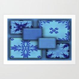 Delfts Blauw Art Print