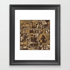 One Sunday Afternoon Framed Art Print