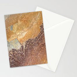 Natural Red Rift Stationery Cards