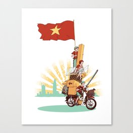 Vietnamese Transport Canvas Print
