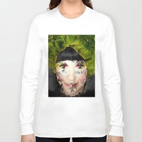 depression Long Sleeve T-shirts featuring Depression by Amber Dawn Hilton