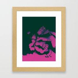 Chlorine  Framed Art Print