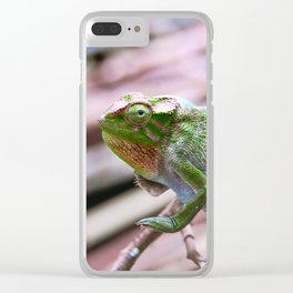 Tanzania - Chameleon Colors Clear iPhone Case