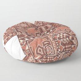 Tapa Shirt Floor Pillow