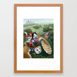 On Our Way Framed Art Print