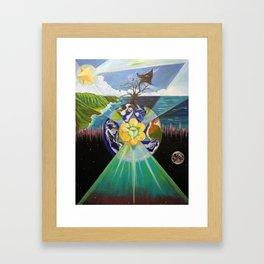 Earth's Change Framed Art Print