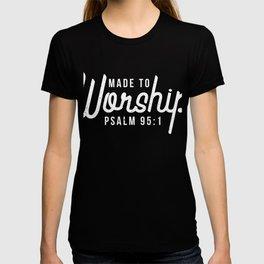 Christliches Psalm Geschenk T-shirt