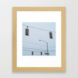 Crossroads I Framed Art Print
