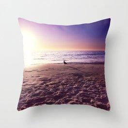 The Polar Beach Throw Pillow