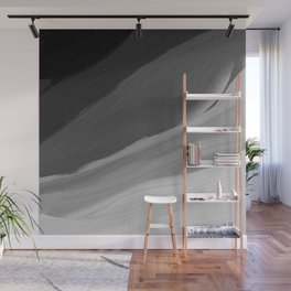 Chaos Wave - Abstract Painting Wall Mural