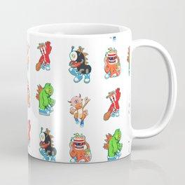 Kaiju Food Monsters Pattern #2 Coffee Mug