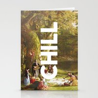 chill Stationery Cards featuring Chill by eARTh