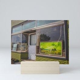 Main Street, Golden Valley, North Dakota 7 Mini Art Print